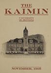The Kaimin, November 1905