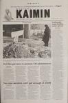 Montana Kaimin, February 9, 2001