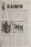 Montana Kaimin, February 27, 2001