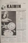 Montana Kaimin, February 28, 2001
