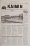 Montana Kaimin, March 15, 2001