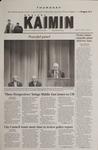 Montana Kaimin, April 12, 2001
