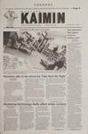 Montana Kaimin, April 24, 2001