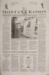 Montana Kaimin, September 4, 2001