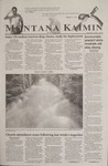Montana Kaimin, September 18, 2001