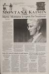 Montana Kaimin, September 20, 2001