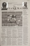 Montana Kaimin, September 21, 2001