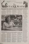 Montana Kaimin, September 26, 2001