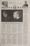 Montana Kaimin, October 12, 2001