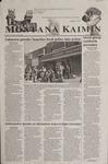 Montana Kaimin, October 16, 2001