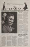 Montana Kaimin, October 19, 2001