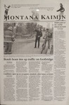 Montana Kaimin, October 25, 2001