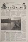 Montana Kaimin, October 26, 2001