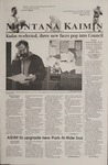 Montana Kaimin, November 7, 2001