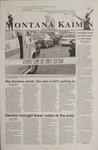 Montana Kaimin, November 8, 2001