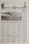 Montana Kaimin, November 16, 2001