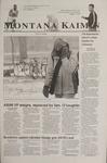 Montana Kaimin, November 29, 2001