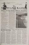 Montana Kaimin, February 1, 2002