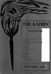 The Kaimin, October 15, 1907