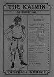 The Kaimin, November 15, 1907