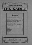 The Kaimin, February 1908