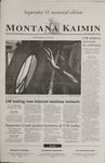 Montana Kaimin, September 11, 2002