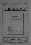 The Kaimin, March 1908