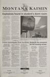 Montana Kaimin, September 27, 2002