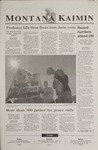 Montana Kaimin, October 1, 2002