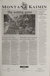 Montana Kaimin, November 19, 2002