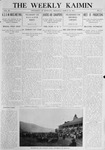 The Weekly Kaimin, March 10, 1910