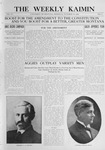 The Weekly Kaimin, October 27, 1910