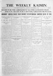 The Weekly Kaimin, November 3, 1910