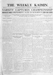 The Weekly Kaimin, November 10, 1910