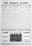 The Weekly Kaimin, November 17, 1910