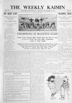 The Weekly Kaimin, November 24, 1910