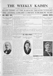The Weekly Kaimin, December 15, 1910