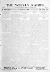 The Weekly Kaimin, January 5, 1911