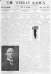 The Weekly Kaimin, October 5, 1911