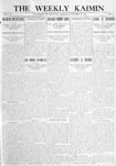 The Weekly Kaimin, October 12, 1911