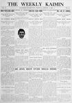 The Weekly Kaimin, January 11, 1912