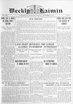 Weekly Kaimin, September 26, 1912