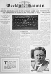Weekly Kaimin, October 31, 1912