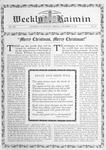 Weekly Kaimin, December 12, 1912