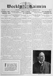 Weekly Kaimin, February 13, 1913