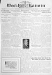 Weekly Kaimin, April 10, 1913