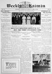 Weekly Kaimin, April 24, 1913