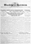 Weekly Kaimin, May 8, 1913