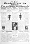 Weekly Kaimin, May 22, 1913