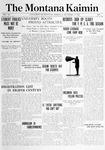 The Montana Kaimin, September 24, 1914